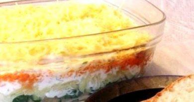"""Салата """"Зимна вечер"""".В Бългапия под наименованието """"руска салата"""" се разбира предимно салатата """"Оливе"""", както и всичко салати, в които има майонеза. Действително, в """"руските салати"""" майонезалат, киселите краставички, маринованите моркови и сваренте или пушени меса са №1, защото за онези географски ширини пресните зеленчуци са деликтес още от средата на месец септември. По тази причина всяка """"руска салата"""" на практика е не само отлично мезе за чашка вино, водка или друг алкохол през есента и зимата, но може да бъде и достатъчна за вечеря. Следвай ме - Гурме."""