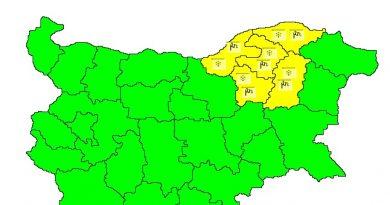 Жълт код за снеговалежи в пет области. Следвай ме - Общество