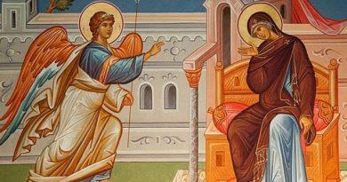 Благовещение (Благовец) народът смята за половин Великден, защото независимо от Великия пост преди Възкресение Христово, той се празнува изключително тържествено. Това е неподвижен празник, т.е. денят му не е в зависимост от датата на християнската Пасха и всякога е на 25 март. Следвай ме - Вяра