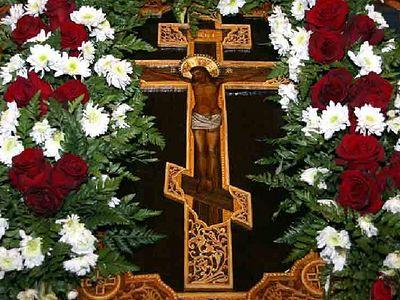 Неделя Кръстопоклонна. Тя е в средата на Великия пост и възпоменава Хистовите страдания, пътят на християнина. Следвай ме - Вяра