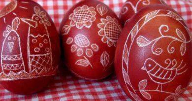 Червените яйца са символ на животаБоядисват се на Велики Четвъртък или Събота. Следвай ме - Вяра.
