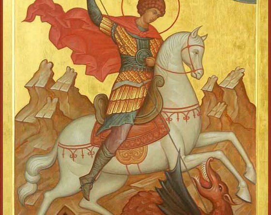 Свети Георги е живял в края на ІІІ и началото на ІV век по времето на император Диоклетиан, който не обичал християните и ги преследвал. Следвай ме - Вяра
