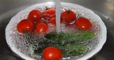 Как да изчистим плодовете и зеленчуците от пестицидите? Следвай ме - У дома