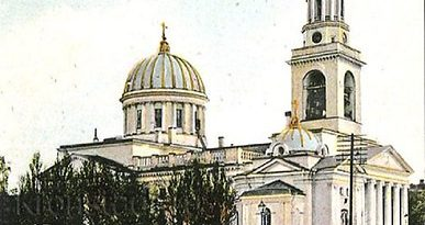 В Русия възстановяват храма на св. Йоан Кронщадски. Андреевския храм е дело на архитект Андреян Захаров, чието дело е и Адмиралтейството в Санкт Петербург. Следвай ме - Вяра