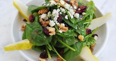 Здравословни салати с боровинки. Следвай ме - Гурме