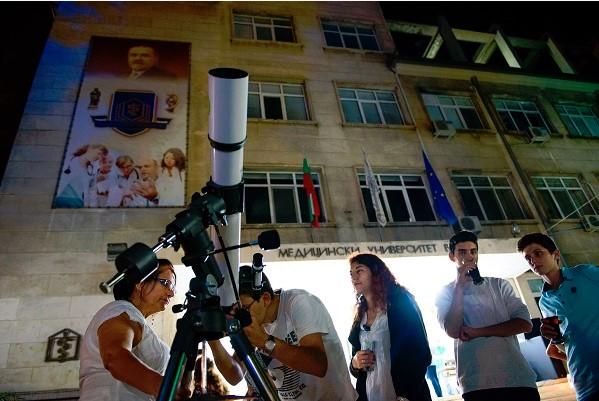 Европейска нощ на учените ще започне на 28 септември от 17.30 ч. в двора на Медицинския университет – Варна. Следвай ме - Общество