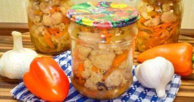 Маринованият карфиол с моркови и чушки е вкусна и ароматна туршия за зимата. Тя е подходяща гарнитура за всякакво ястие – от печено или панирано месо до риба. Следвай ме - Гурме