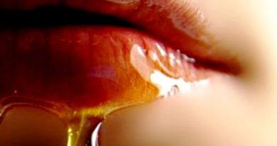 Съблазнителни и сочни устни с мед и куркума. Устните, подобно на лицето, изискват постоянни грижи, особено през зимата, за да не се напукват. За целта можете да използвате мляко или лосион за почистване на грим (не съдържащи спирт), а ако не разполагате с тях – растително масло или подхранващ крем. Следвай ме - Стил