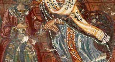 Св. Николай удря шамар на еретика Арий. Свети Николай в качеството си на архиепископ на град Мира и участник в Първия Вселенски събор удря плесница на еретика Арий. Съборът е свикан през 325 г. по повод ереста на Арий по времето, когато живеели и управляващи Константинополскиян архиепископ Митрофан, Римският папа Силвестер Първи и император Константин Велики. В него участвали 318 отци. Следвай ме - Вяра
