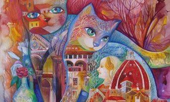 Фантастичните котки на художничката Оксана Зайка. Следвай ме - Култура