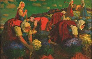Националната галерия представя 190 произведения на Александър Петров (1916-1983) от 21 февруари до 27 април. Следвай ме - Култура