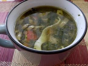 Витаминозна рибена чорба със спанак. Продуктите за нея притеават витамини и минерали, които спасват от пролетната умора. Следвай ме - Гурме