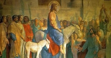Цветница – спомен за влизането на Иисус в Йерусалим. Цветница, Връбница, Неделя Вайя са все наименования на един и същи ден – този, в който Иисус влиза тържествено в Йерусалим. Следвай ме - Вяра