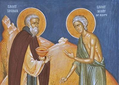 Мария Египетска – пътят към Светото Причастие. Житието на св. Мария Египетска не е от любимите на мнозина – усещане за непростима греховност, покаяние без никаква самопощада, крайна аскеза. С това се изчерпва животът на тази светица от VI век. Животът на св. Мария Египетска може напълно да бъде наречен дългият път към Светото Причастие. Следвай ме - Вяра