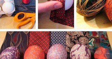 Великденски перашки с плат и декупаж. С плат и дантела. С декупаж. Следвай ме - У дома