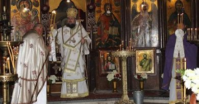 Литийно шествие в Кнежа на Света Троица Черквата в града отбелязва храмов празник на този ден. Следвай ме - Вяра