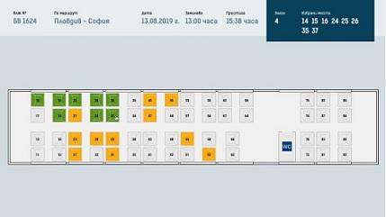 Избираме си електронно място във влака БДЖ внедрява нова система за резервация. Следвай ме - Общество