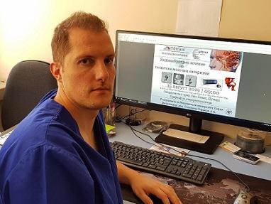 """Германец показва иновативна терапия на аневризми в УМБАЛ """"Св. Иван Рилски"""". Следвай ме - Здраве"""