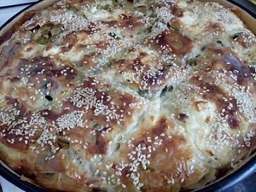 Баница с праз и маслини – и за празник, и за пост. Следвай ме - Гурме