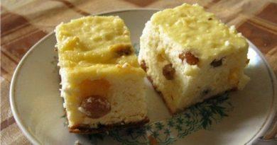 Запеканка с извара и стафиди Запеканката е ястие, запечено на фурна, в което основните съставки са извара или сметана, в някои случаи и двете, яйца и допълнения. Това, всъщноста са и базовите продукти от там нататък всичко е във въображението на домакинята, която може да превърне това ястие в предястие, в основно или в десерт. Следвай ме - Гурме