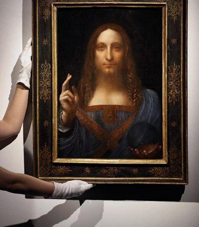 """Разкриха тайната на """"Спасителя на света"""" Учени обясниха защо Леонардо да Винчи е пренебрегнал законите на оптиката в стъкленото кълбо, което държи Иисус Христос Следвай ме - Култура"""