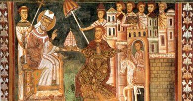 Папа Силвестър I оглавява почти 22 години Светия престол в Рим На изток го честват на 2 януари, на запад – на 31 декември. Следвай ме - Вяра