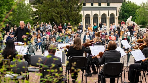Симфониета - Шумен с нов концерт на открито, Следвай ме - култура