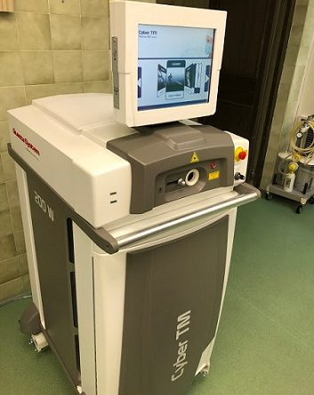 Лекуват простата с мощен тулиум лазер в Бургас Най-мощният Тулиум лазер за лечение на простатата вече е на разположение на пациентите в Универстетската многопрофилна болница за активно лечение (УМБАЛ) в Бургас. . Следвай ме - Здраве