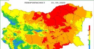 Екстремен индекс за пожароопасност в 17 области днес - Следвай ме - Общество