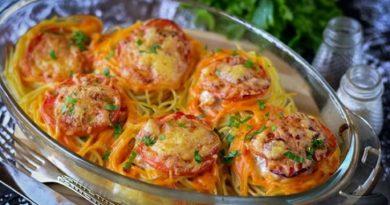 Гнезда от спагети с кайма, Следвай ме - Гурме
