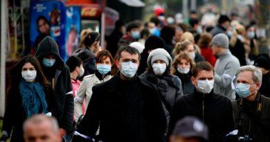 Всички с маски и на улицата от четвъртък Това важи до краяна ноември, ако COVID-болните и инфектираните с коронавируса не намалеят, остава и за по-нататък. Следвай ме - Здраве / Общество