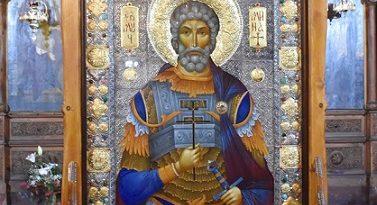 Семейството на г-жа Татяна Попова дари икона на Видинска епархия Изображението е на свети Мина и е с вградени мощи. Следвай ме - Вяра