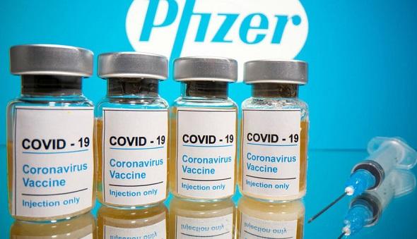 """Ваксина пази 90% от коронавирус Ваксината, разработена съвместно от американската компания """"Пфайзър"""" и немската """"Бионтех"""" е показала 90 процентна ефикасност в рамките на третата фаза от клиничните й изпитания. Следвай ме - Здраве"""