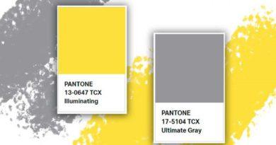 Сиво и жълто – цветовете на 2021 година Институтът Pantone обяви, че двата основни цвята на 2021 година ще са Pantone 17-5104 Ultimate Grey и Pantone 13-0647 (на по-разбираем език – сиво и жълто). Следвай ме - Стил