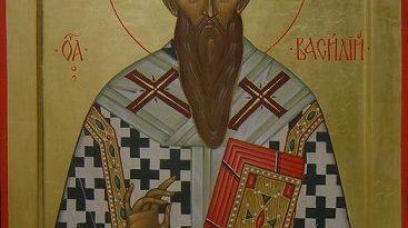 Св. Василий Велики – основоположник на организираната благотворителност Свети Василий бил архиепископ на Кесария, вселенски отец и учител на Църквата, основоположник на кападокийското богословие. Роден около 330 г. в Кесария Кападокийска (Мала Азия) в знатно и благочестиво семейство. Освен с теологически си трудове, той е известен и с факта, че еосновоположник на организираната благотворителност. Той създава комплекс с олница, училище за сираци, приют за бедни и страноприемница, както и работилници, наречен Василиада. Следвай ме - Вяра