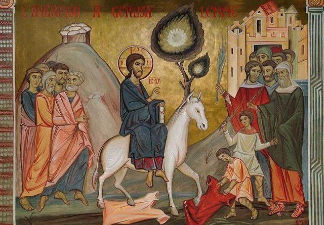 Вход Господен в Йерусалим – след него е Страстната седмица Следвай ме - Вяра