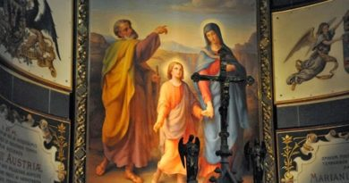 Католиците почитат светите Йоаким и Анна днес Тяхната история, зачеването и раждането на Дева Мария е описано през II век в апокрифното протоевангелие на Яков Следвай ме - Вяра