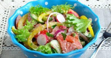 Две рецепти за необичайни летни салати
