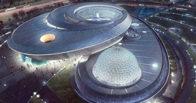 Китай с най-големия планетариум на света Новото съоръжение ще бъде открито на 18 юли в Шанхай Следвай ме - Общество
